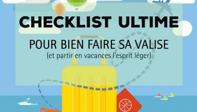 checklist valise